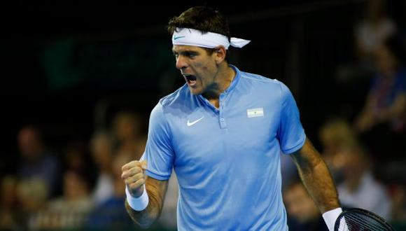 Copa Davis: Del Potro venció a Murray en partido de cinco horas