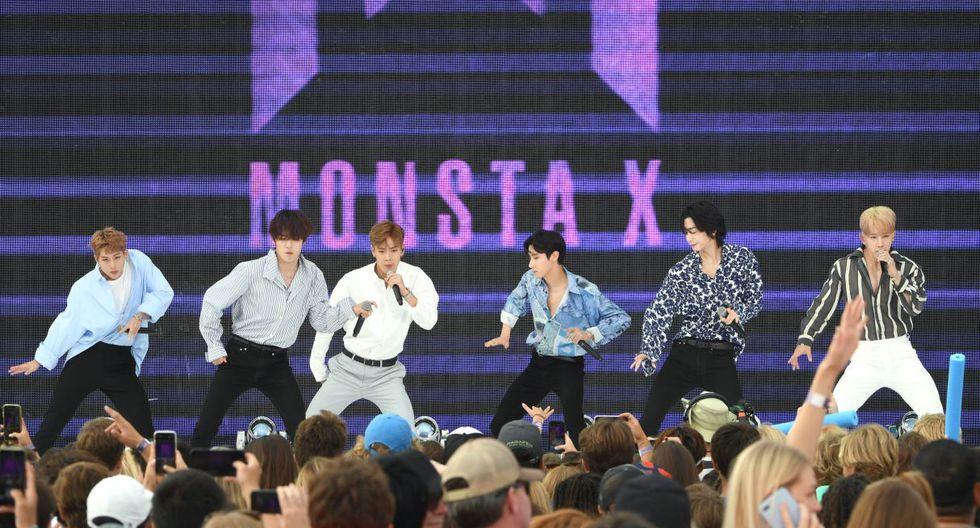 Revive la presentación de Monsta X en los Teen Choice Awards 2019. (Foto: AFP)