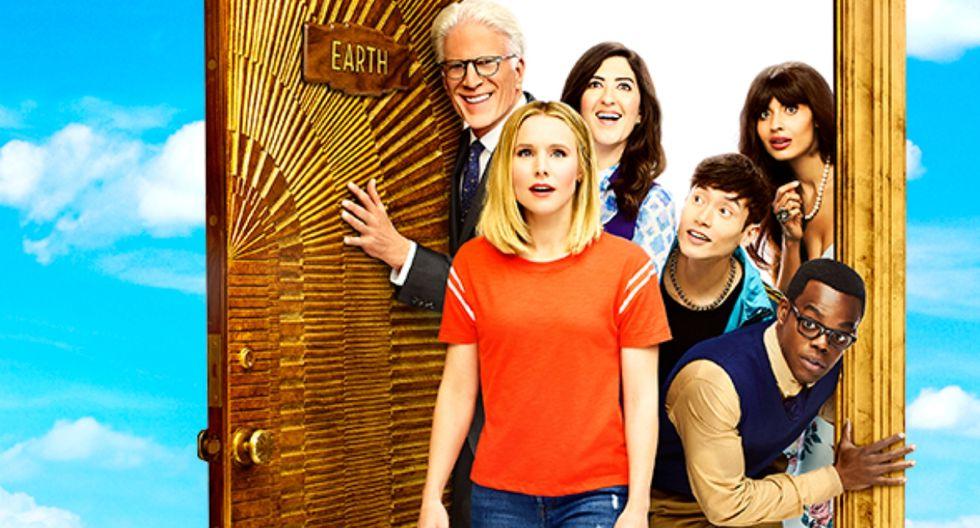 """The Good Place"" de NBC tendrá cuarta temporada. (Foto: Facebook @NBCTheGoodPlace)"
