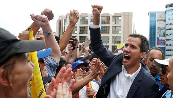 Almagro reconoce a Guaidó como presidente encargado de Venezuela. Foto: Reuters