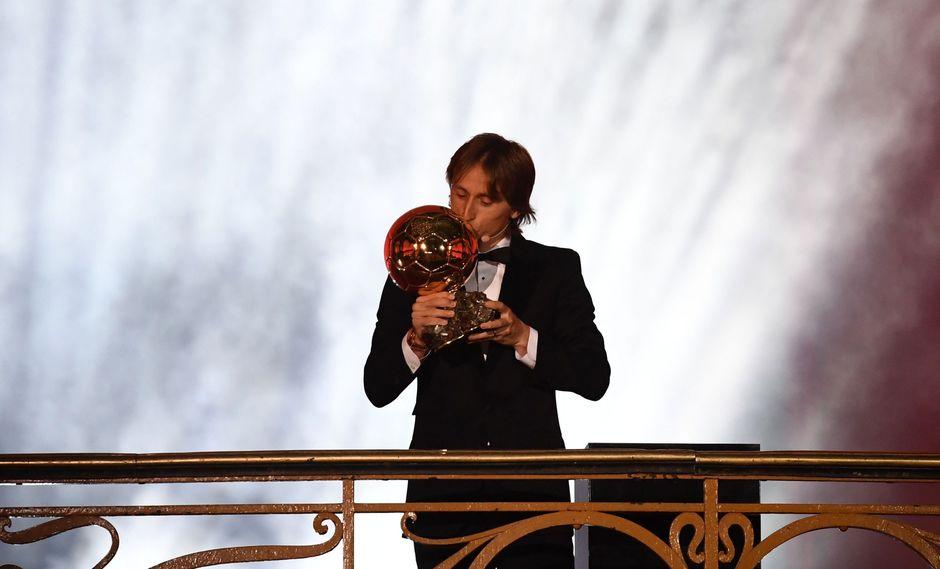 Balón de Oro 2018: así fue el evento en París donde Luka Modric se consagró como el mejor futbolista del año. (Foto: AFP)