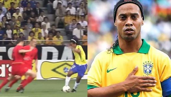 Ronaldinho y la foto compartida en Instagram hace unos días.