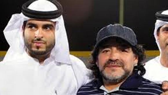 Las confesiones del chofer de Maradona en Dubai.