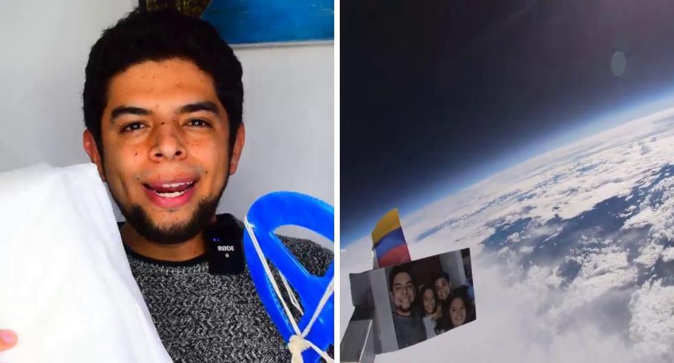 Faber Burgos Sarmiento es conocido en las redes sociales por su pasión por la ciencia. (Foto: Faber Burgos Sarmiento | Facebook)