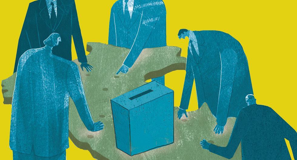 Según señala la ONPE, el reporte de gastos de campaña es la causa más frecuente para la imposición de multas electorales. (Composición: El Comercio)