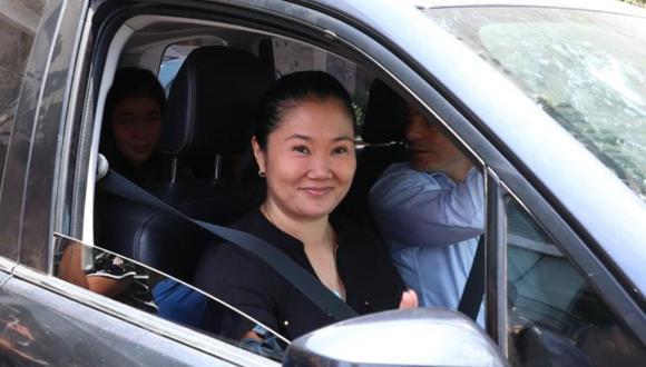 Keiko Fujimori cumple una orden de prisión preventiva por 15 meses en el Penal Anexo de Mujeres en Chorrillos. (Foto: GEC)