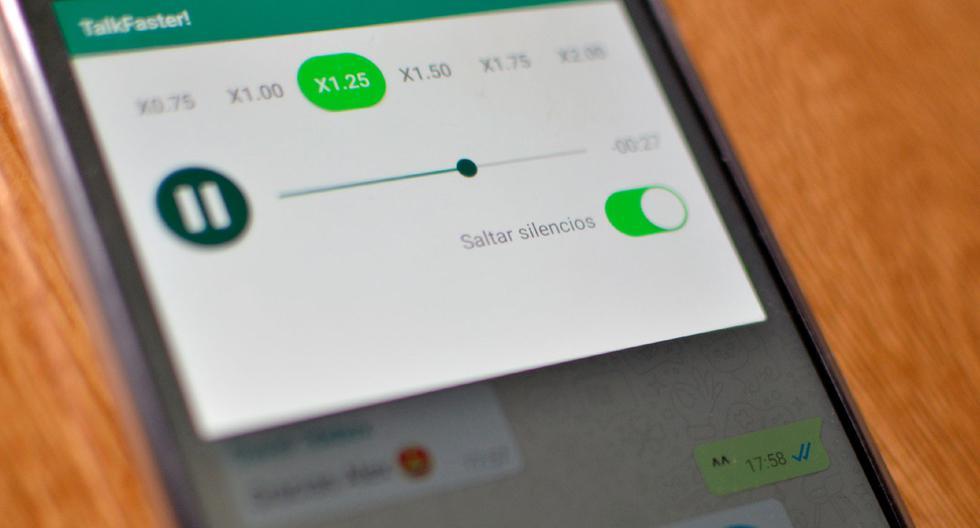 FOTO 1 DE 3 | ¿Deseas escuchar tus audios que te mandan por WhatsApp más rápido. Usa este truco | Foto: WhatsApp (Desliza a la izquierda para ver el truco)
