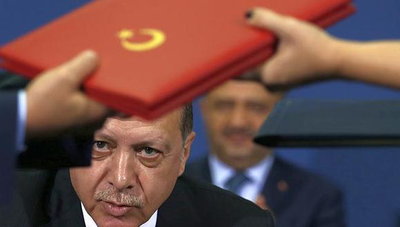 El presidente de Turquía dijo que desafiarán las presiones de EE.UU. (Foto: AP)