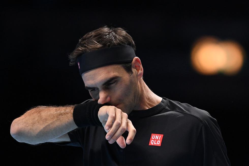 Federer vs. Tsitsipas: las mejores imágenes de la semifinal del ATP Finals 2019. (Foto: AFP / Daniel LEAL-OLIVAS)