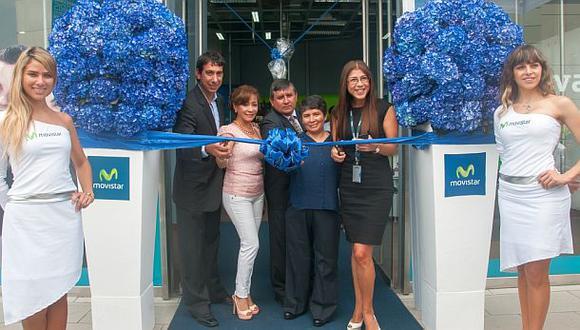 Movistar invertirá US$3 millones para abrir 15 tiendas