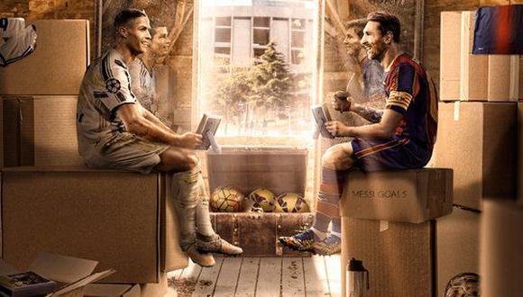 Cristiano Ronaldo y Lionel Messi se volverán a ver las caras este martes, en partido por la Champions League. (Foto: AFP)