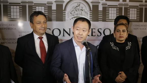 Kenji Fujimori acusó a Fuerza Popular de haber una interpretación indebida de la Constitución para botarlo del Congreso. (Foto: Archivo El Comercio)