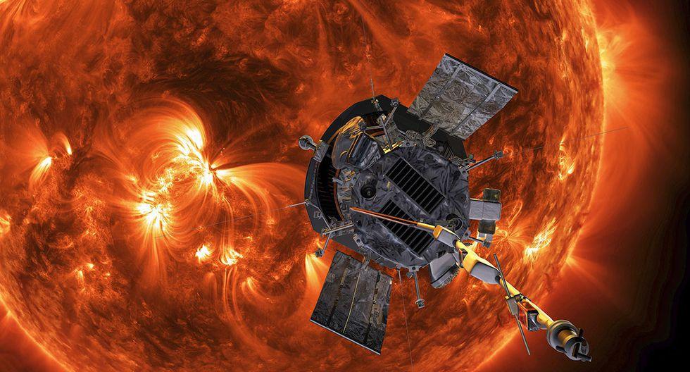 Sonda Parker. (Imagen: NASA)