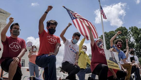 Protestas en Washington DC. (Foto: Reuters)