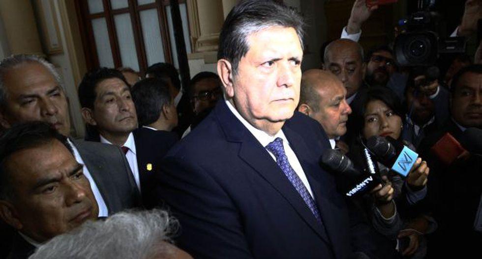 Alan García fue presidente de la República en los períodos 1985-1990 y 2006-2011. El último lunes se presentó en la Comisión Lava Jato. (Foto: Congreso)