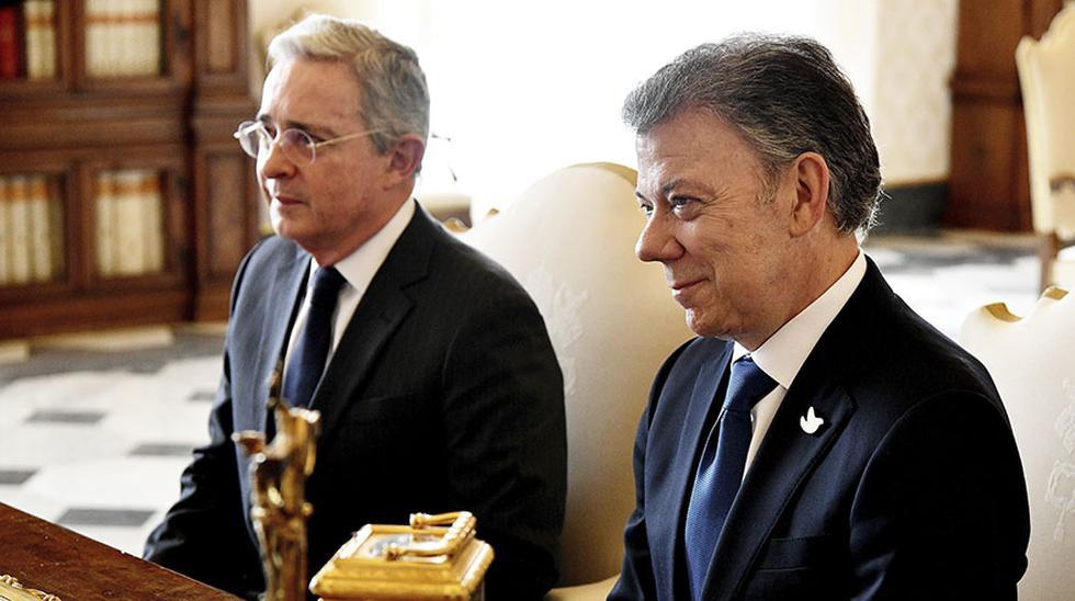 Vaticano: El cara a cara de Santos y Uribe ante el Papa [FOTOS] - 5