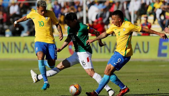 Bolivia y Brasil igualaron 0-0 por las Eliminatorias Rusia 2018. (Foto: Agencias)