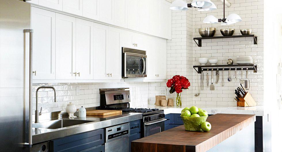 Los diseñadores Brandon Quattrone y Tyler Jorgenson renovaron por completo esta cocina ubicada en un departamento de Cooper Square, Nueva York. (Fotos: www.domainehome.com)