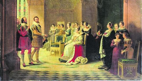 Enrique IV de Castilla frente a Catalina de Médici. Se sabe que el monarca la admiraba por sacar adelante a su familia y al reino.(Getty)
