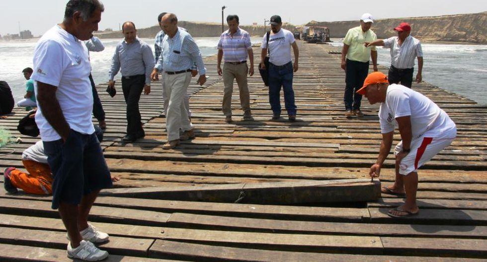 Advierten alto riesgo en antiguo muelle de Puerto Eten [FOTOS] - 4