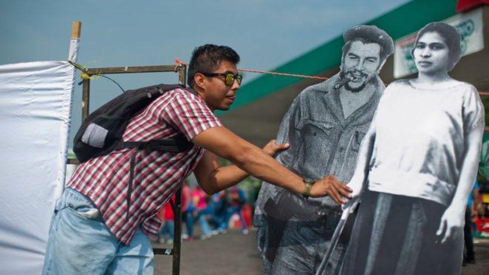 La imagen de Prudencia Ayala como símbolo de los derechos de la mujer comenzó a utilizarse en los últimos años en El Salvador.   (Foto: Museo de la Palabra y la Imagen)