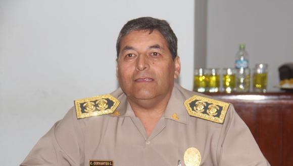 El actual ministro del Interior, Rubén Vargas, sostuvo el martes que la designación del comandante general de la PNP, César Cervantes, se sustenta en la Constitución del Perú y en las leyes que regulan a la PNP. (Foto: GEC)