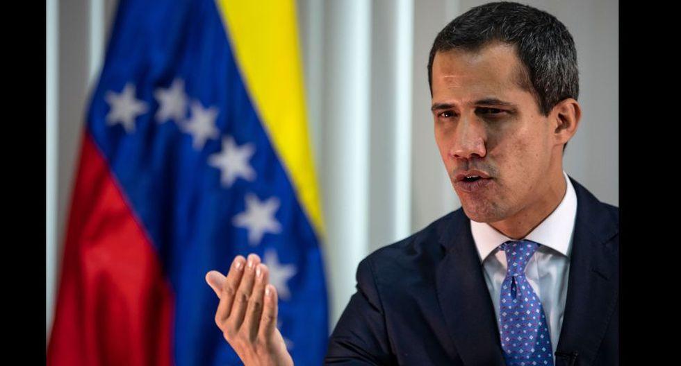 """""""Estamos muy cerca de lograr el cambio en Venezuela"""", dice Juan Guaidó. (AFP)."""