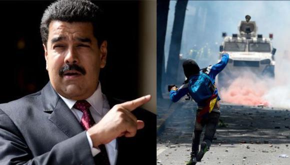 """Nicolás Maduro: Oposición busca que """"Venezuela sea bombardeada"""""""