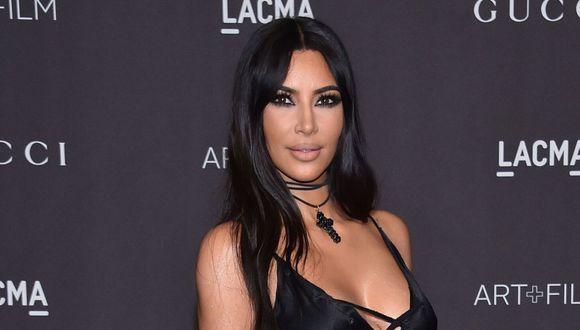 La publicación hecha por Kim Kardashian tiene millones de 'likes'. (AFP)