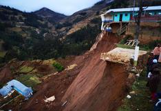 Al menos 80 familias afectadas y un centro de salud colapsado por deslizamiento
