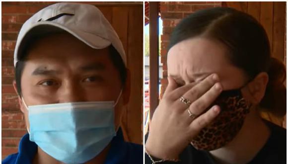 Emily Bauer recibirá los US$ 2.000 que un cliente le dejó como propina el último fin de se mana. (Foto: Captura KENS 5)