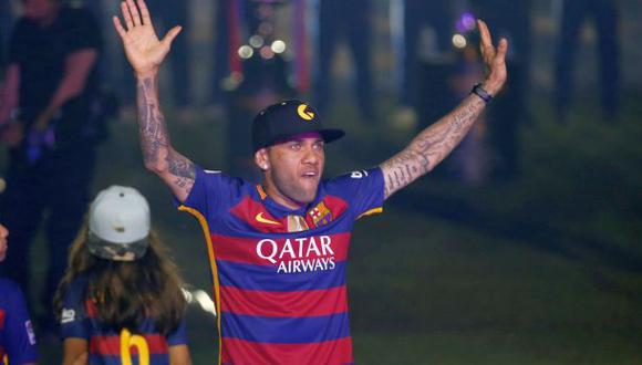 Dani Alves se despidió del Barcelona con esta emotiva carta
