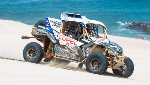 Chaleco López acabó tercero en el Dakar 2010 y 2013. Lo hizo en la categoría Motos. (Foto: Red Bull)