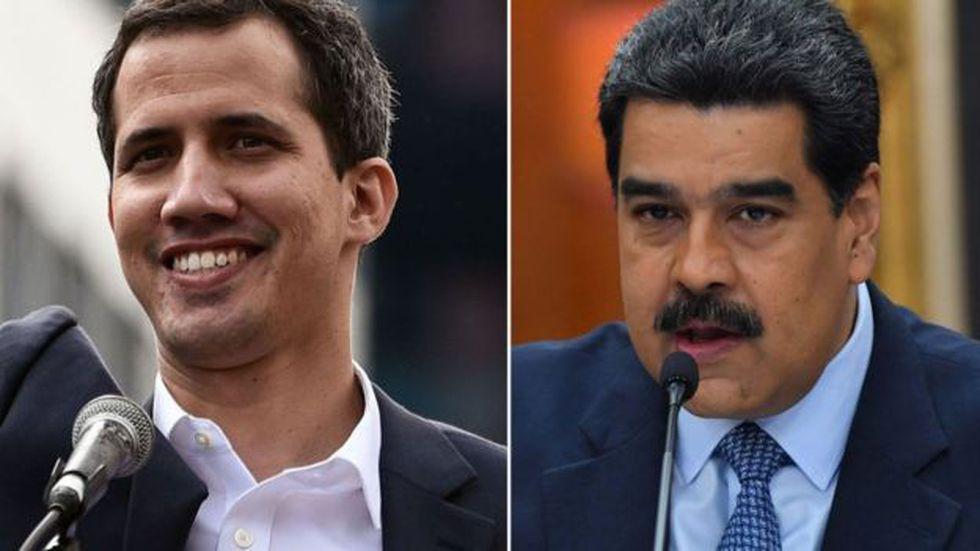 EE.UU. reconoce a Juan Guaidó como presidente encargado de Venezuela. Rusia y China respaldan a Nicolás Maduro.