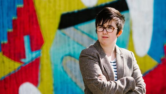 Lyra McKee, periodista asesinada por el Nuevo IRA. (Foto: AFP)