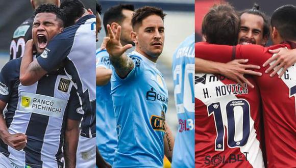 Los saludos de los clubes peruanos por los 200 años de independencia del Perú. (Foto: Alianza Lima / Sporting Cristal / Universitario)