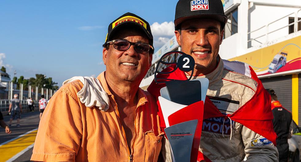 'Riflo' Flores alcanzó el subcampeonato de la Porsche GT3 Cup en Argentina. (Foto: Difusión)