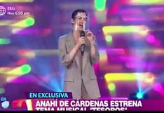 """Anahí de Cárdenas estrena canción """"Tesoros"""" por el Día Mundial del Cáncer de Mama"""