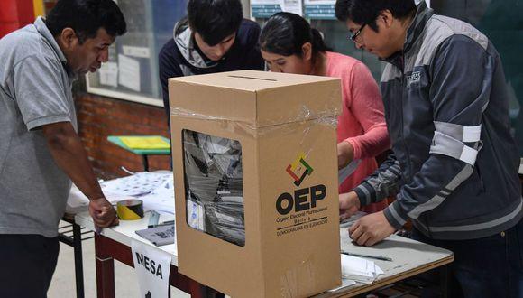 Las elecciones generales en Bolivia están pendientes desde la anulada jornada del 20 de octubre del 2019. Ahora se realizarán en medio de la pandemia de coronavirus Covid-19. (Foto: AFP)
