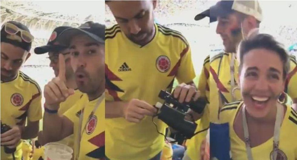 Despiden a ejecutivo colombiano de Avianca que ingresó alcohol ilegal a estadio. (Foto: Captura)