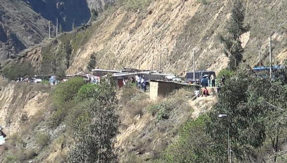 El accidente ocurrió a las 4:00 a.m. en el centro poblado Casahuiri. (Foto: Lino Chipana/referencial)