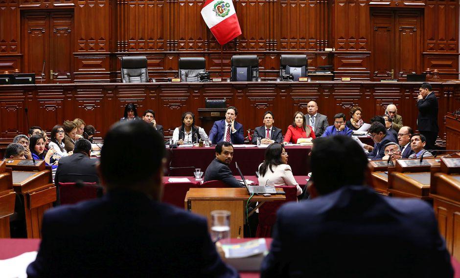 La Comisión Permanente debatirá y votará sobre si se inicia o no una investigación contra el ex fiscal de la Nación Pedro Chávarry por cuatro denuncias constitucionales en su contra. (Foto: Congreso)
