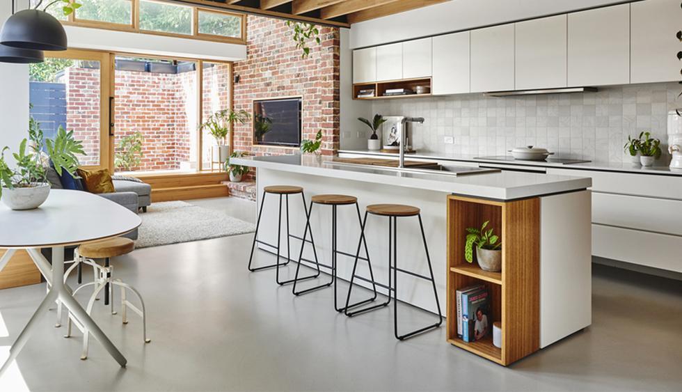 Esta casa tiene 100m2 y se caracteriza por su estilo moderno. Se ubica en la ciudad de Melbourne, Estados Unidos. (Foto: Altereco Design)