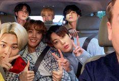 BTS se convertirá en el primer grupo de K-pop que se presentará en el Carpool Karaoke de James Corden