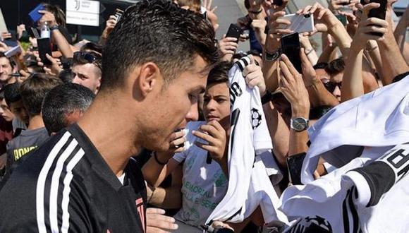 Cristiano Ronaldo inició los trabajos de su segunda temporada en Juventus. (Foto: Juventus)