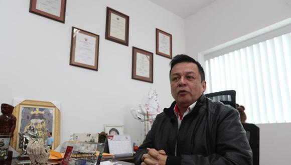 El líder y fundador de Vamos Perú, Juan Sotomayor, asegura que no ha vuelto a conversar con Daniel Salaverry. (Foto: Rolly Reyna/GEC)