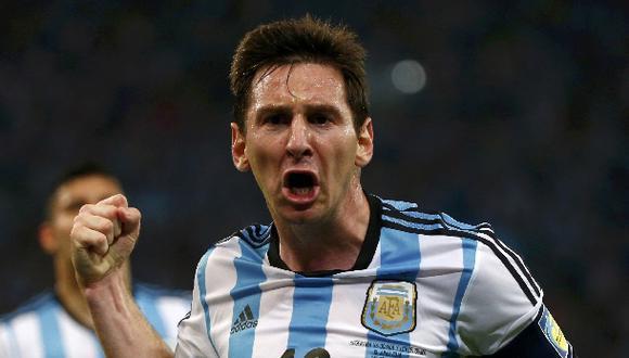 Messi elogió su gol y reconoció que hizo un partido discreto