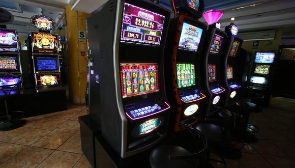 Cada máquina y mesa de juegos pagará ISC. (Foto: GEC)