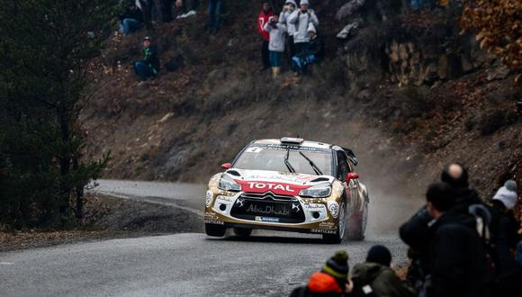 WRC: Sebastien Loeb marcha primero en el Rally de Montecarlo