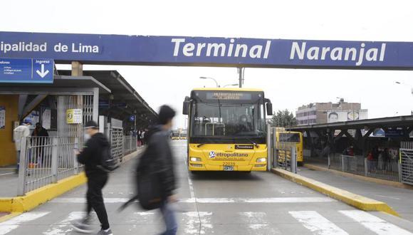 Desde el sábado, los operadores del Metropolitano han ido retirando sus unidades de manera gradual. (Foto: archivo/ Jessica Vicente/GEC)